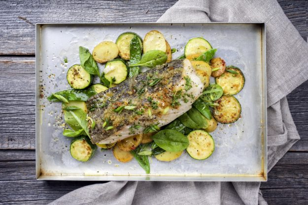 Fisch-Kochkurs München - Fisch auf Blech
