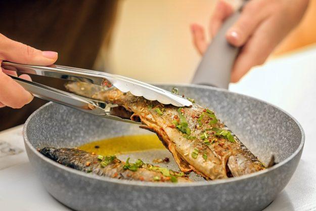 Fisch-Kochkurs München - Fisch mit Pfanne