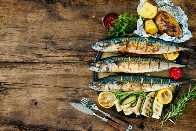 Fisch-Kochkurs München - gegrillte Makrele