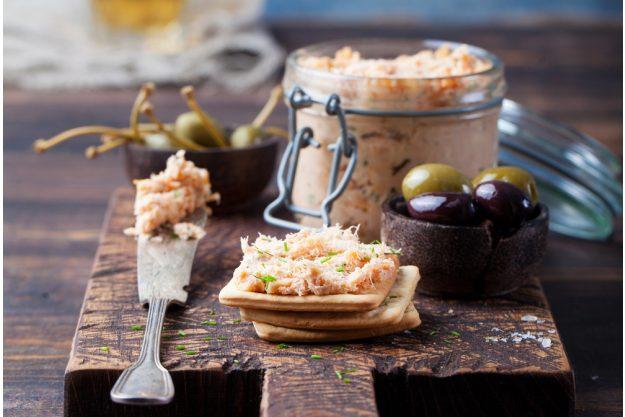Fisch-Kochkurs München - Lachs-Paté