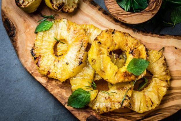 Grillkurs München – Gegrillte Ananas