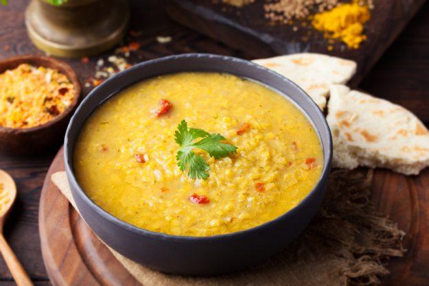Indien-Kochkurs München – Linsen-Suppe