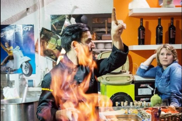 Italienischer Kochkurs München - Raffaele Trongone