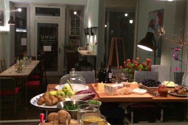 Weihnachtsfeier in München - Buffet