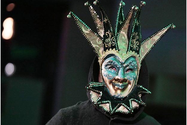 Krimidinner in München - Maske