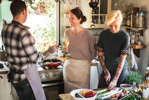 Österreich-Kochkurs München –  Freunde kochen gemeinsam