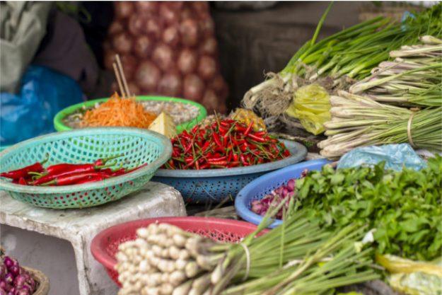 Thai-Kochkurs München – Gemüse und Gewürze