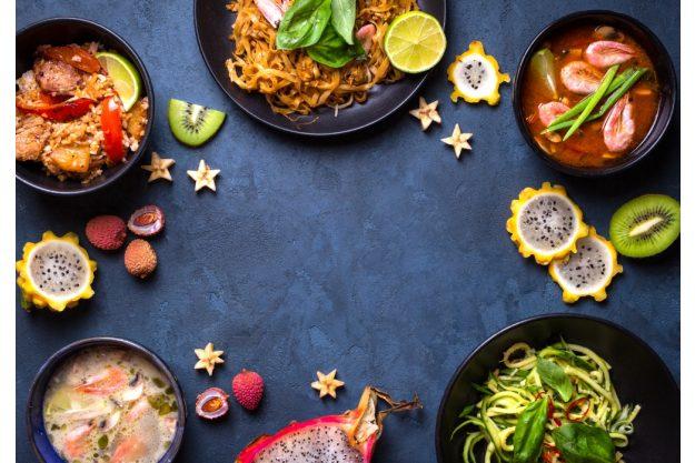 Thai Kochkurs online Speisenauswahl