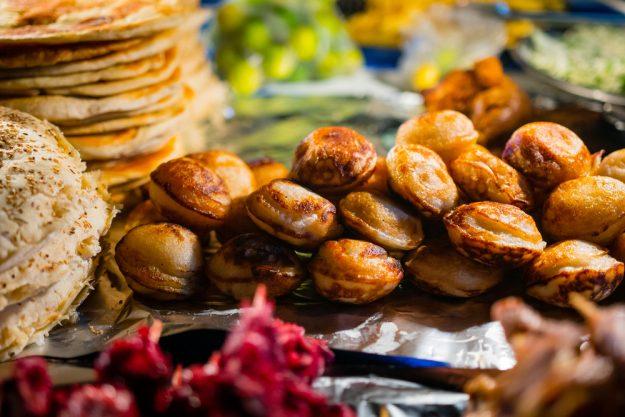 Vietnamesischer Kochkurs München - gebackene Küchlein