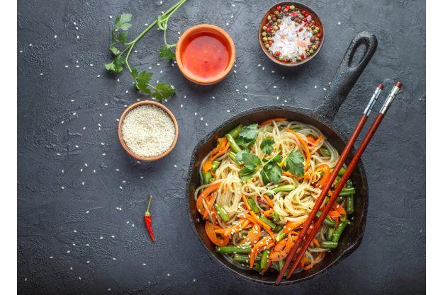 Vietnamesischer Kochkurs München - gebratene Nudeln