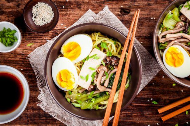 Vietnamesischer Kochkurs München - Sobanudeln mit Pilzen