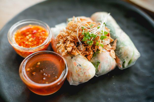 Vietnamesischer Kochkurs München - Sommerrollen mit Fischsauce