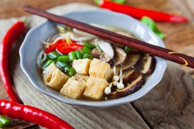 Vietnamesischer Kochkurs München - Tofu in Schale