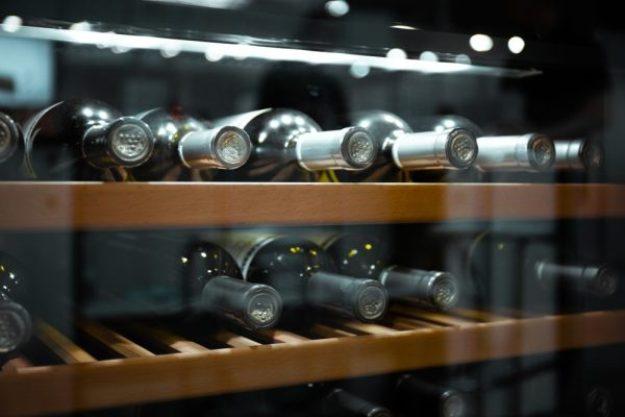 Weinseminar München –Flaschen