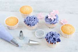 Cupcake-Backkurs München – Cupcakes in Pink