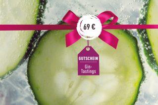 Gutschein Gin-Tasting Gutschein für ein Gin-Tasting 69€