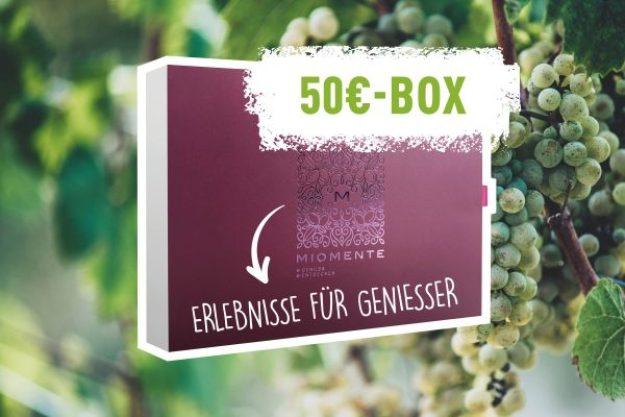 Erlebnis Geschenkgutschein 50 € –Geschenkidee