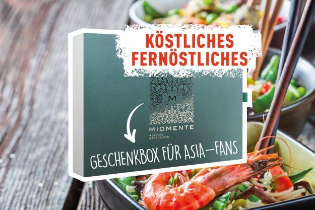 Köstliches Fernöstliches - Geschenkidee Geschenkgutschein