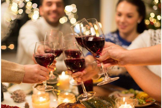 Online Rotweinseminar Rotwein mit Freunden