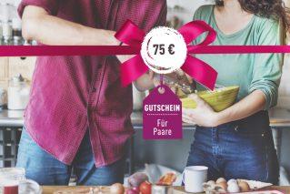 Gutschein für Paare Gutschein für Paare 75€