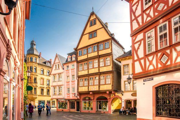 Kulinarische Stadtführung Mainz - Fachwerk Häuser