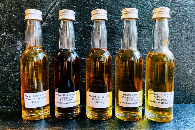 Online Whisky-Tasting für Zuhause - Whiskyproben