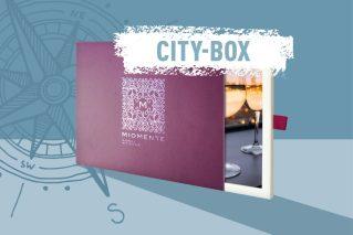 Kulinarische Stadtführung-Gutschein  Miomente CITY-Box