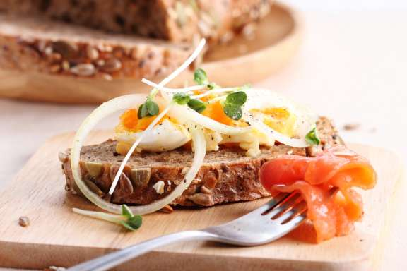 Brunch in Hamburg - Belegtes Brot