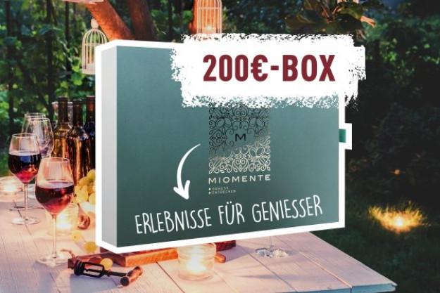 Erlebnis Geschenkgutschein 200 € –Geschenkidee