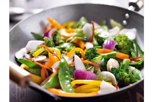Firmenfeier Hamburg - Wok Gemüse