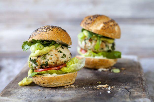 Burger-Kochkurs Neumünster – kleine Fischburger