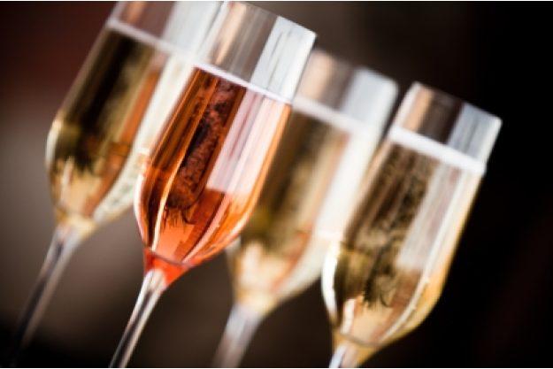 Incentive mit Champagnerverkostung Hamburg - roter Sekt