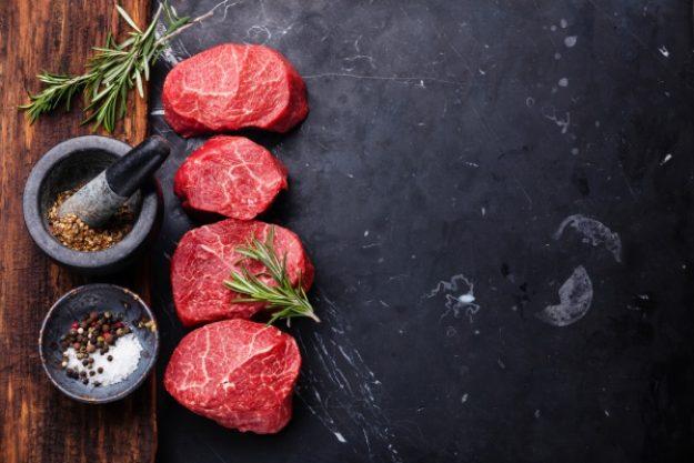 Fleisch-Kochkurs Neumünster - marmoriertes Rindfleisch