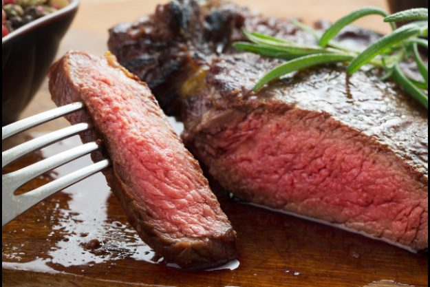 Fleisch-Kochkurs Neumünster - rosa gebratenes Fleisch
