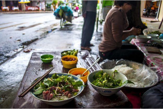 vietnamnesischer Kochkurs online Straßenszene