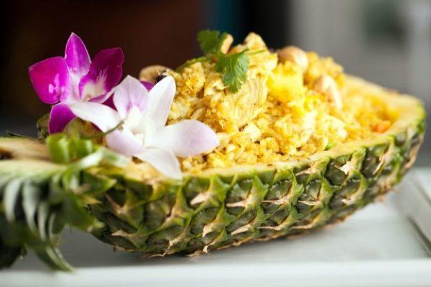 Länder-Kochkurs Hamburg –Hawaiianisches Gericht in Ananas