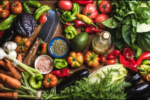 Vegetarischer Kochkurs Hamburg – buntes Gemüse
