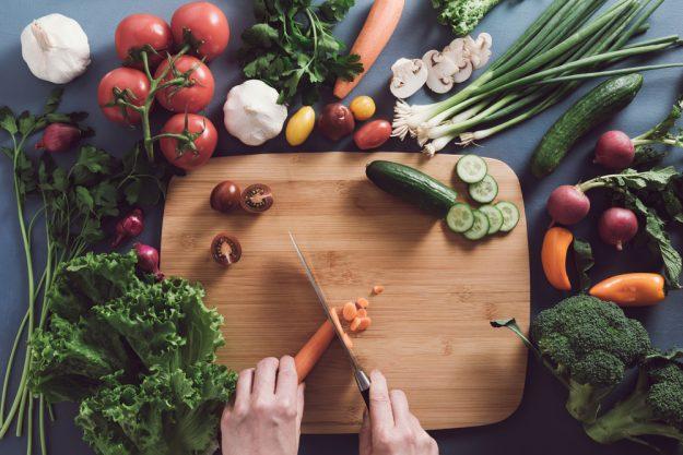 Vegetarischer Kochkurs Hamburg – Gemüse schneiden