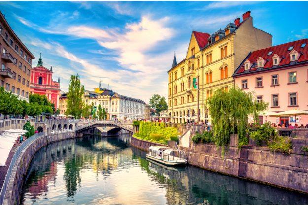 Virtuelle Reise nach Slowenien Ljubliana