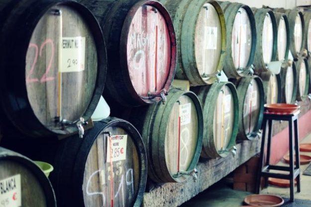 Weinseminar Hamburg – Weinfässer