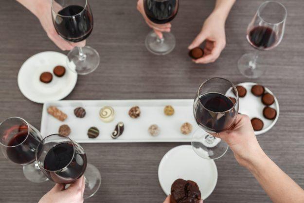 Weinseminar Hamburg - Wein und Schokolade