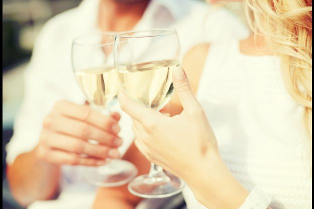 Weinseminar Hamburg – Weißwein im Glas