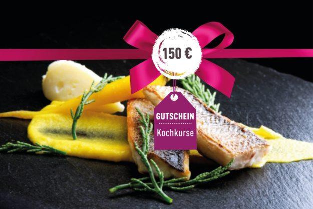 Geschenk-Gutschein-Kochkurs – Gutschein 150 Euro