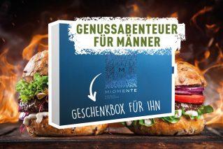 Geschenkgutschein für Männer Genussabenteuer für Männer
