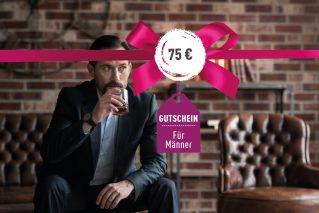 Gutschein für Männer Gutschein für Männer 75€