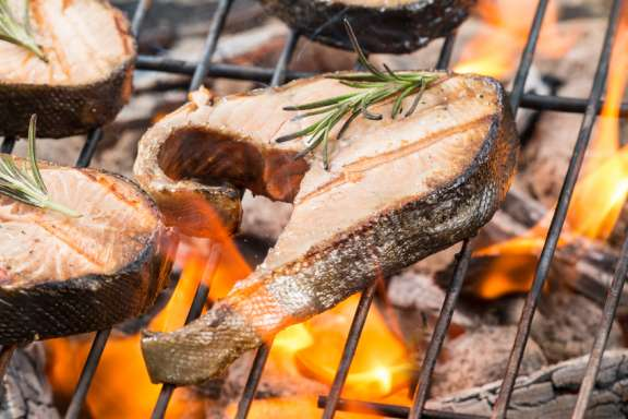 Grillkurs in Roth - Lachs