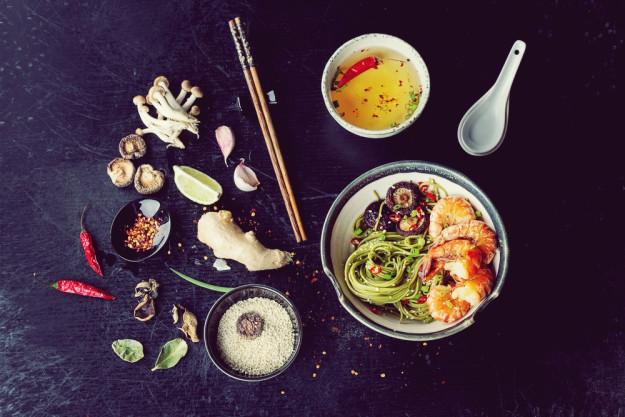 Asia-Kochkurs Heidelberg - asiatisches Fingerfood