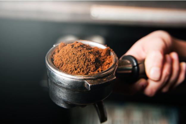 Kaffee in Vollendung am Vormittag