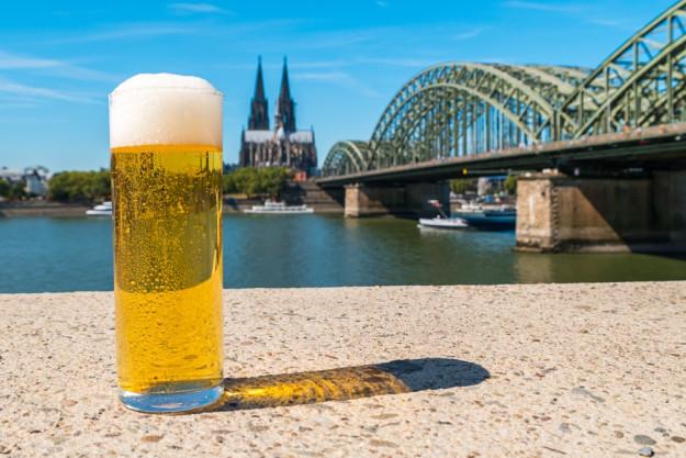 Bierprobe Stuttgart – Baguette und Oliven