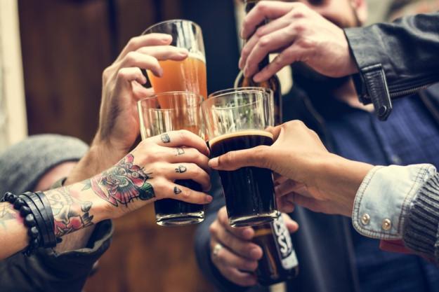 Braukurs München - Bier zapfen